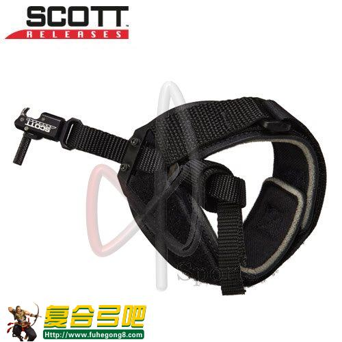 Scott Silverhorn Hook & Loop Nylon Strap Release思考tvsilverhorn钩和环的尼龙带撒放器